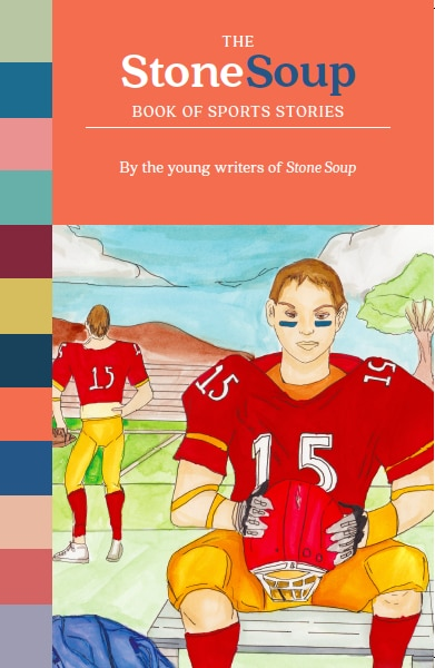 """Cover art: """"If Only"""" by Christian Miguel, 12. Illustration for the story published in Stone Soup, September/October 2014."""