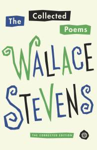 Book cover of The collected poems of Wallace Stevens