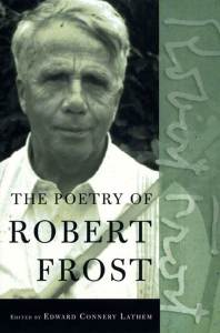 Book cover of The poetry of Robert Frost