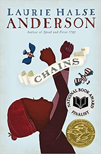 Chains by Laurie Halse Anderson, Reviewed by Daniel, 10