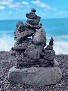 Rocks at Pohoiki Beach