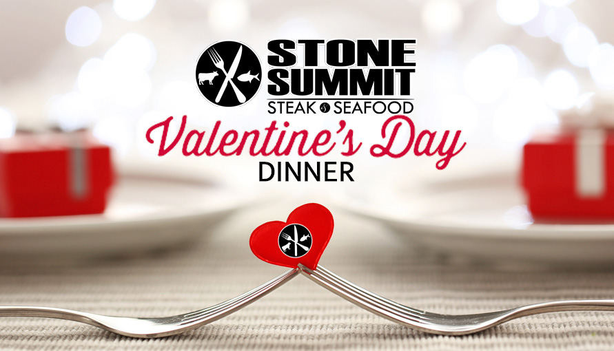Valentine's Day Dinner at Stone Summit