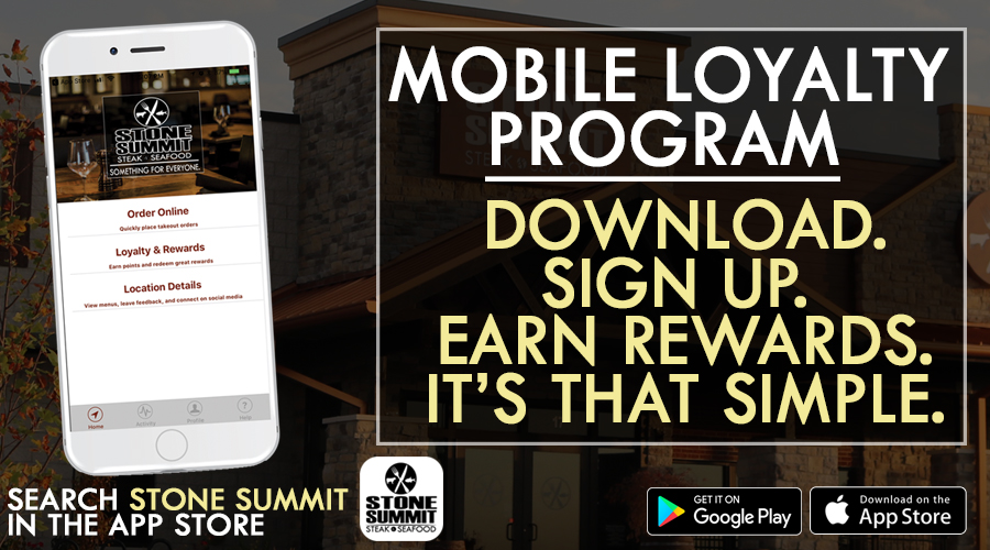 Stone Summit Mobile Loyalty program