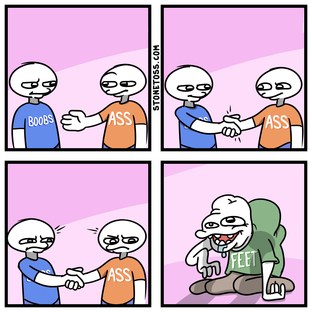comic about attraction to body parts