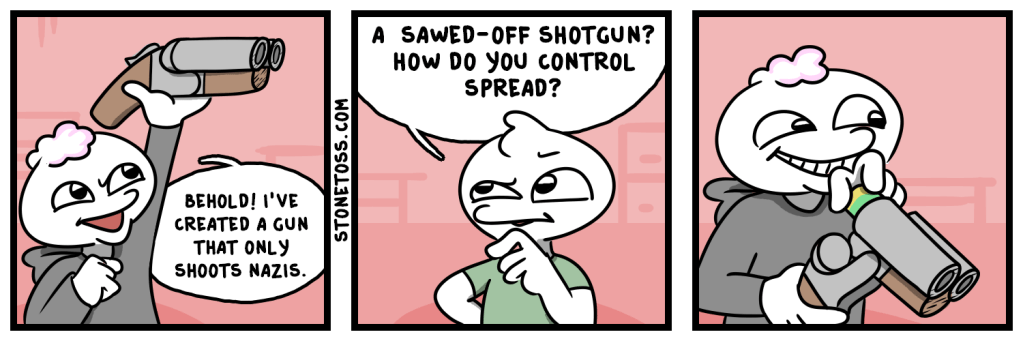 Comic about targeting nazis