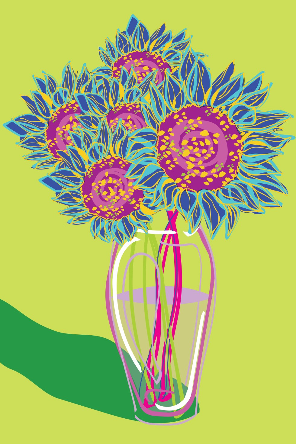 BFA Sunflower Vase FINAL PRINT 6 13 19