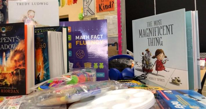 #ClearTheLists School Supplies