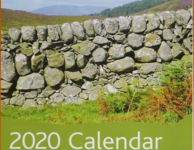 Walls on wall calendar for 2020