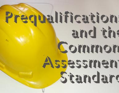 CHAS adopts the Common Assessment Standard for prequalification