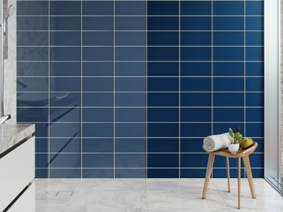 Textured Surfaces Brings Cascade Collection Glass Tiles to Brilliant Life