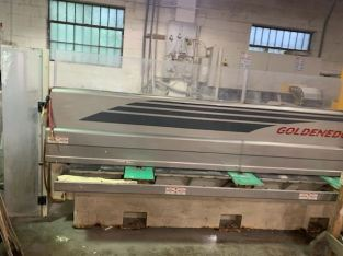 2002 Breton Goldenedge ctx cnc edge polisher