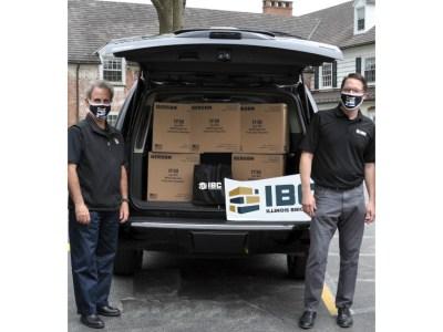 Illinois Brick Company Delivers Needed Masks to Senior Living Community