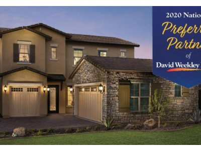 BLANCO wins recognition as a 2020 National Preferred Partner by David Weekley Homes