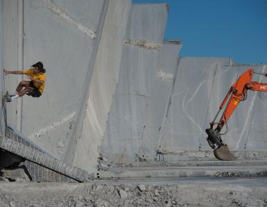 Lundhs team up with Red Bull to bring world skateboard elite to granite quarry