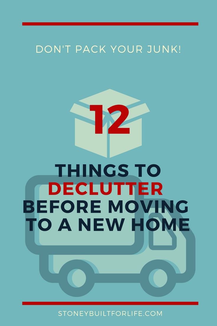 12 things to declutter