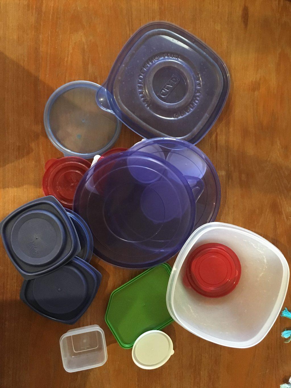 plastic declutter