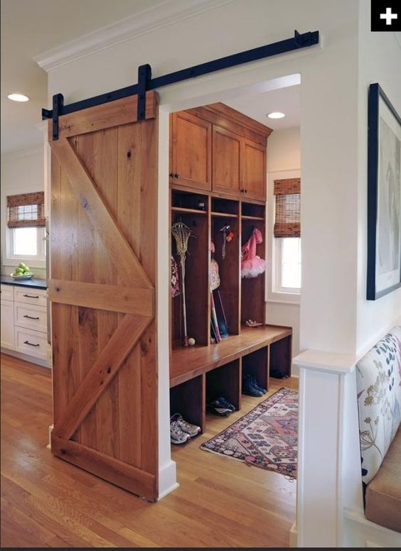 Mudroom separate