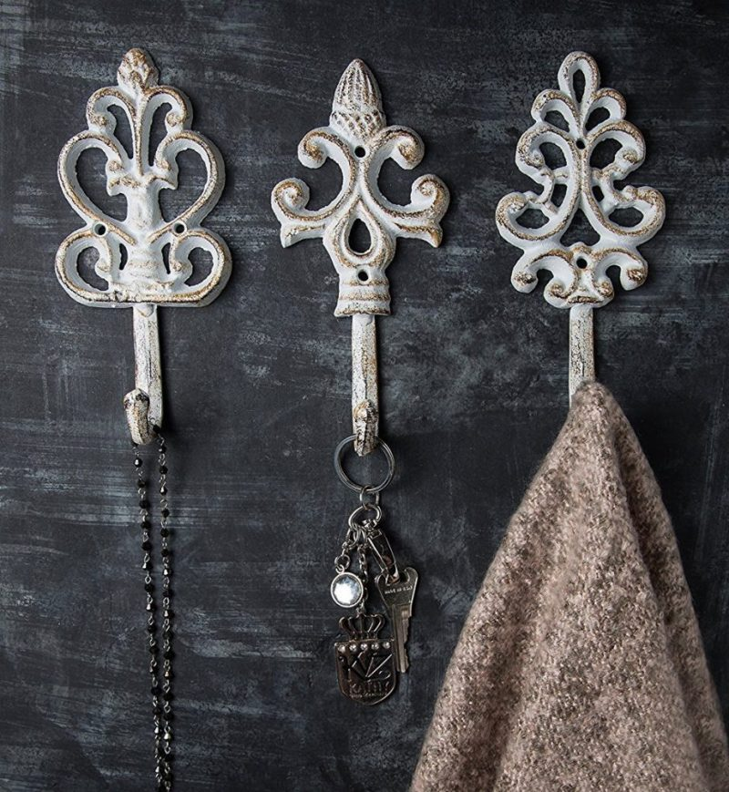antique mudroom hooks