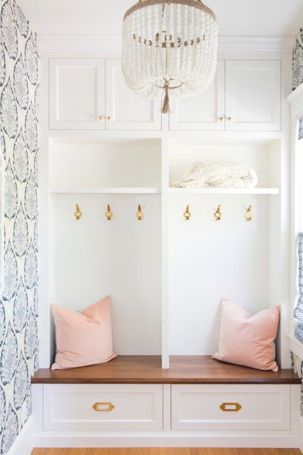 elegant mudroom