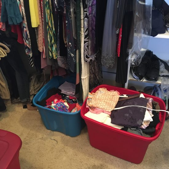 organize off season clothing