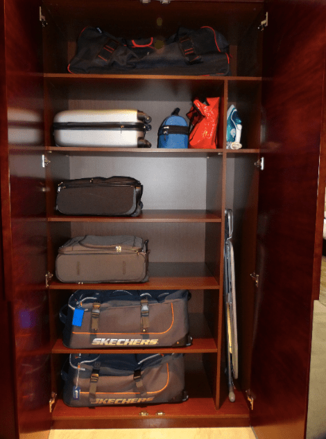 Luggage organize