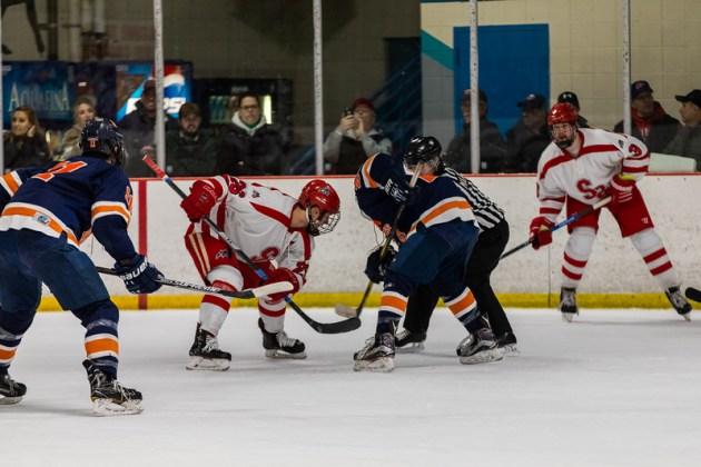 12 Seawolves Prepare For Eschl Playoffs Stony Brook University Hockey
