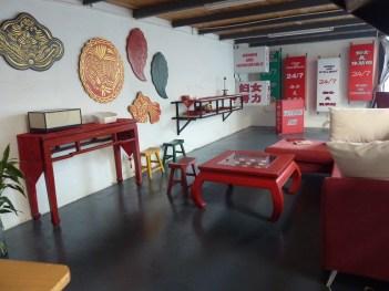 Yellow Flower Studio interior at Songzhuang (June 2012)