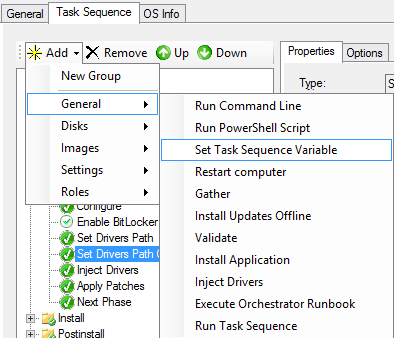 MDT 2013: Adding a Drivers Catch-All Task Sequence – the