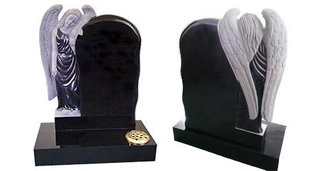 headstone memorials engraving angels