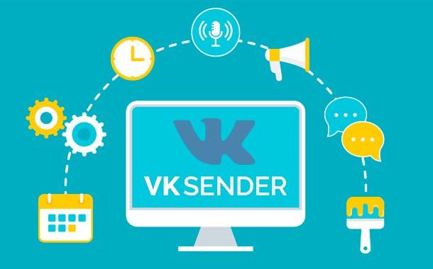 VK Sender. Массовый Трафик 2.0