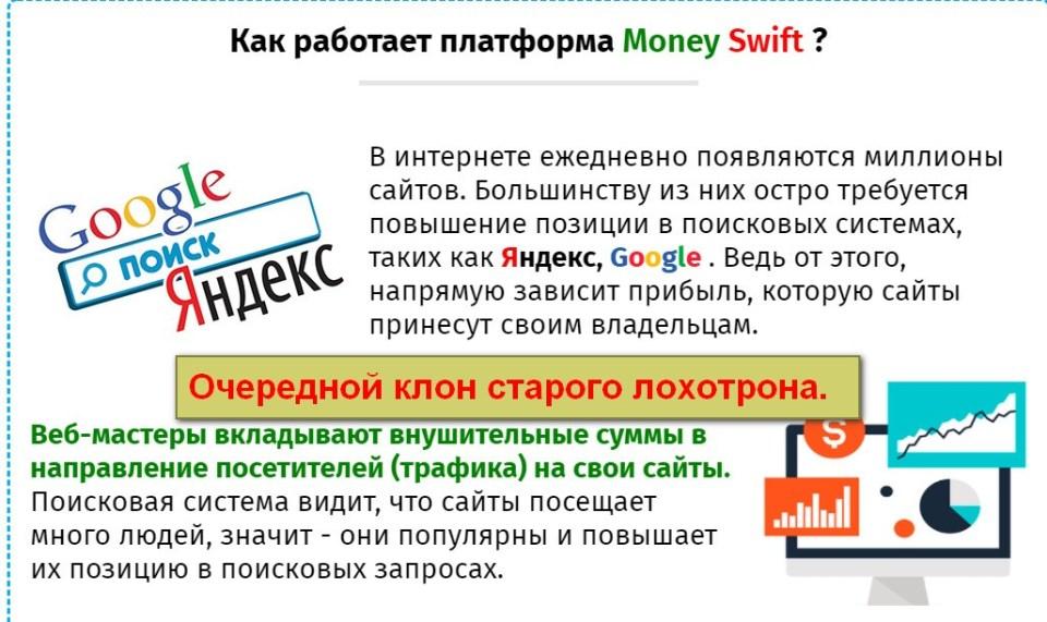 Money Swift, Money Victory, купля-продажа интернет-трафика