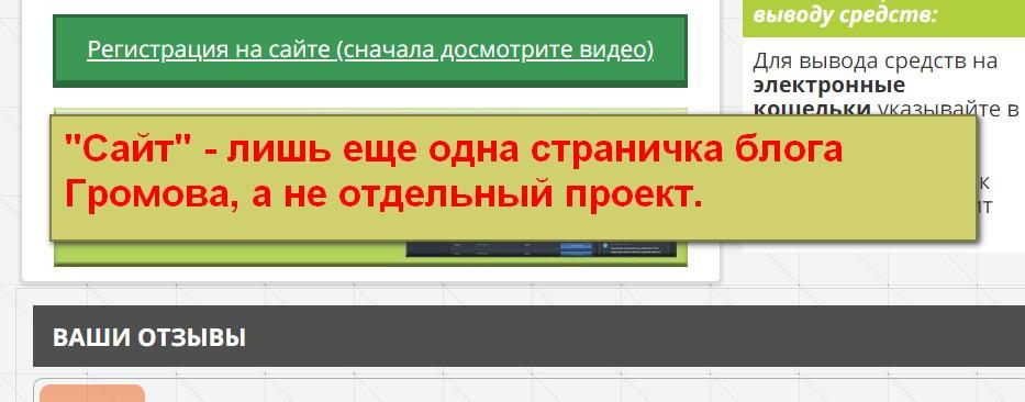 The Dropped Websites, Информационный Портал Белого Заработка, заработок на брошенных сайтах