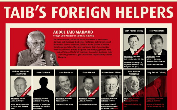 EXCLUSIVE: Bruno Manser Fund names Taib's foreign helpers