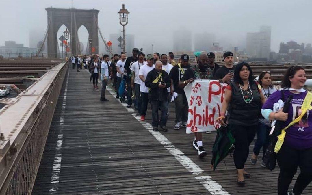 Brooklyn Bridge Child Sex Abuse Survivors Walk