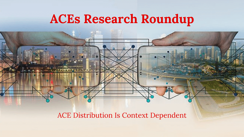 ACE Distribution Is Context Dependent