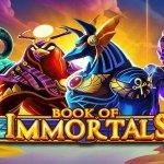 book of immortals slot logo