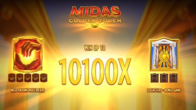 midas golden touch slot rules