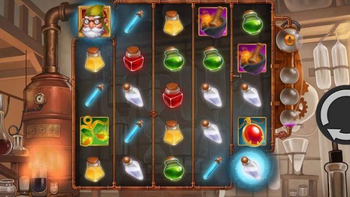 wildchemy slot gameplay