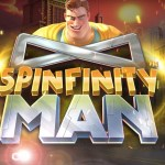 spinfinity man slot logo