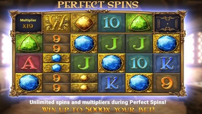 perfect gems slot rules