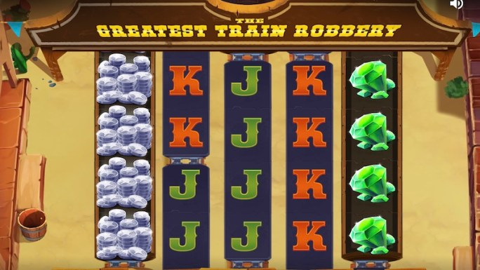 the greatest train robbery slot gameplay