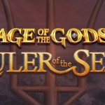 ages of the gods ruler of the seas slot logo