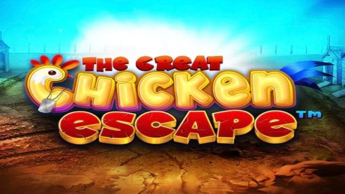 the great chicken escape slot logo
