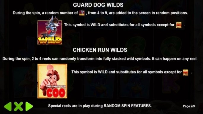 the great chicken escape slot rules
