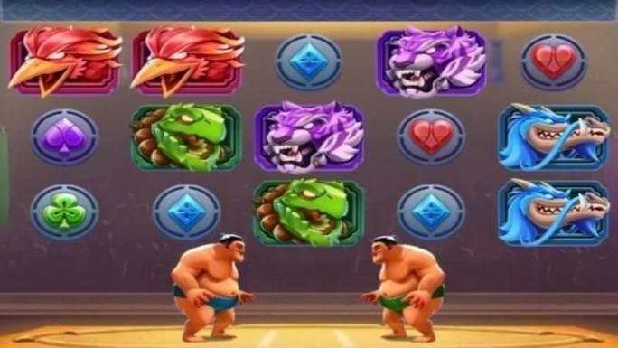 yokozuna clash slot gameplay