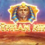 egyptian king slot logo