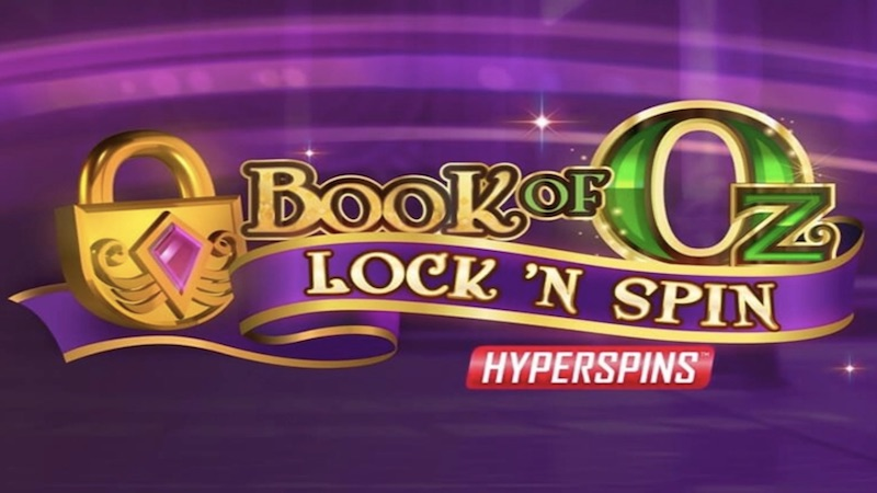 Book of Oz Lock N Spin Slot