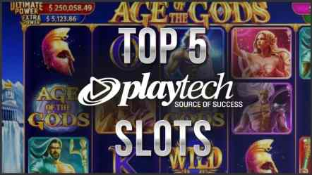Top 5 Playtech Slots