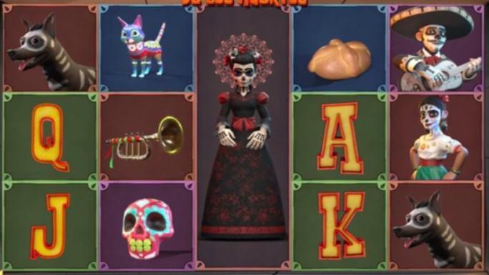 danza de los muertos slot gameplay