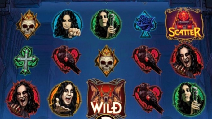 ozzy osbourne slot gameplay